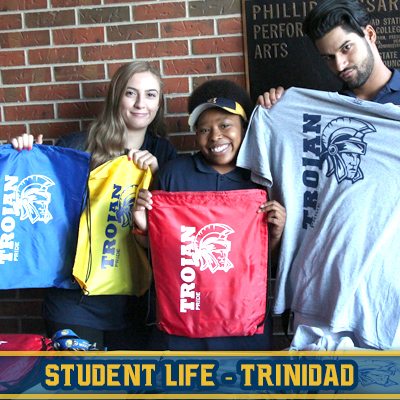 Click for Trinidad Campus Student Life